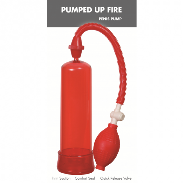 Pompka-Pumped Up Fire Penis Pump Linx