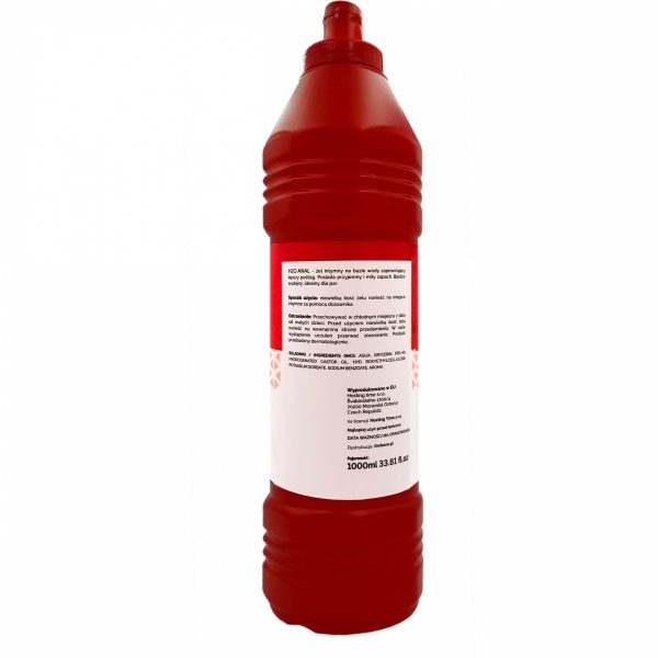 H2O ANAL ŻEL ANALNY WODNY 1000ml RED BOTTLE LINE