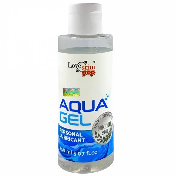Uniwersalny lubrykant wodny żel nawilżający aqua gel lubrykant 150ml