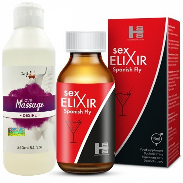 Sex Elixir 15ml - najskuteczniejsza hiszpańska mucha