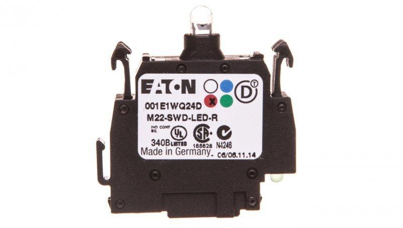 Dioda czerwona  mocowanie czołowe  SmartWire-DT M22-SWD-LED-R 115969