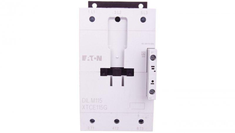 Stycznik mocy 115A 3P 100-120VAC 0Z 0R DILM115(RAC120) 239547