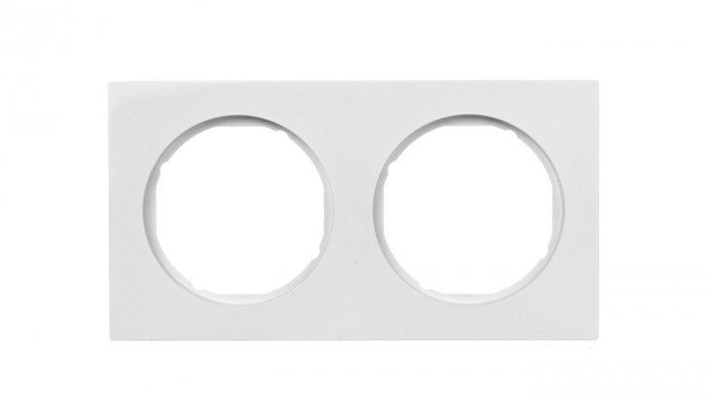 Berker R.3 Ramka podwójna biała 10122289