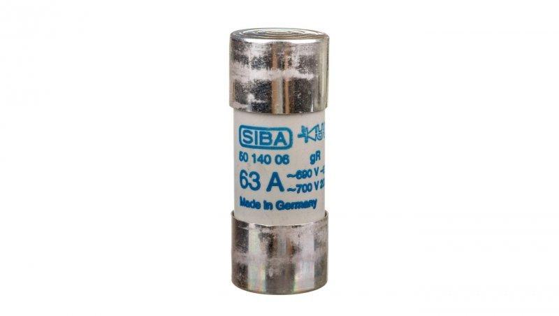 Wkładka bezpiecznikowa cylindryczna 22x58mm 63A gR 690V AQS22 002645152