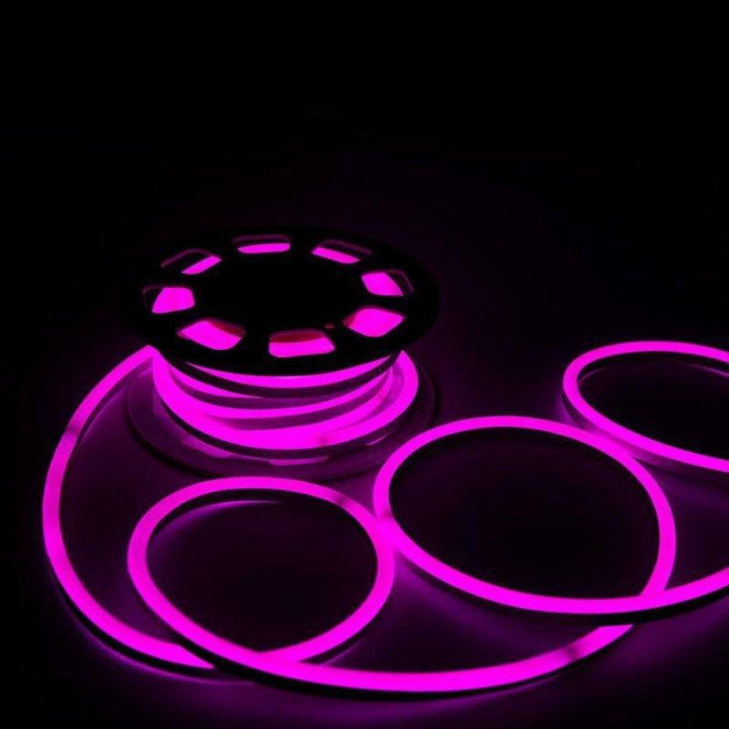 Neon Flex 24V 10mb 8W/m V-TAC VT-555 Różowy 320lm