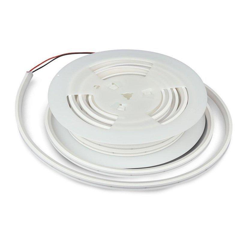 Neon Flex 24V V-TAC 120LED/m 24V IP65 10mb VT-559 6400K 1000lm