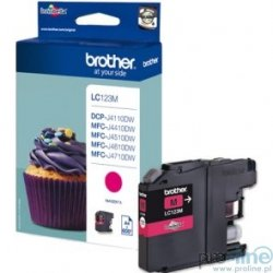 Tusz oryginalny Brother LC123M Magenta