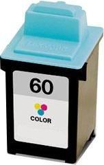 Tusz Zamiennik kolorowy do drukarki Lexmark Z12, Z22 ( 17G0060 nr 60)