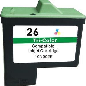 Tusz Zamiennik kolorowy do drukarki Lexmark X2200, Zi3 ( 10N0026 nr 26)
