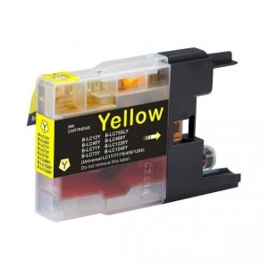Tusz Zamiennik Brother LC1240Y - DCP J430W, J525W, MFC J625DW, J5910D - GP-B1240Y yellow