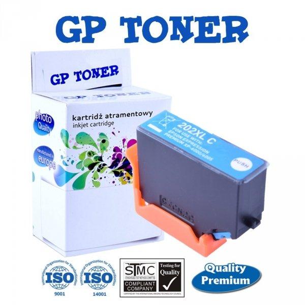 Tusze do Epson 202XL Expression Premium XP-6000 XP-6005 XP-6100 - GP-E202C - Niebieski