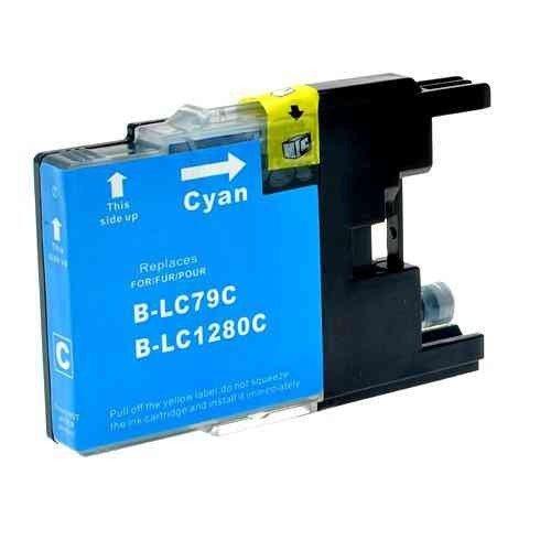 Tusz Zamiennik Brother LC1280C - MFC J6510, J6710, J6910 - GP-B1280C cyan