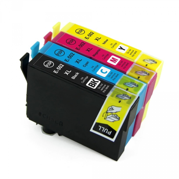 4 Tusze do EPSON 502XL XP-5100 WF-2800 WF-2860