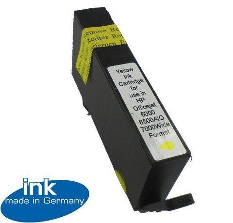 Tusz Zamiennik HP 920XL yellow OfficeJet 6000, 6500, 7000, 7500 - GP-H920XLY Yellow