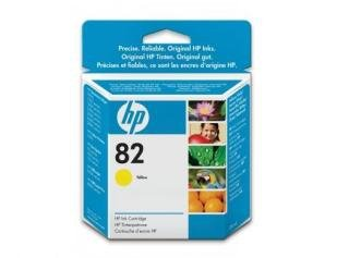 Tusz HP 82 yellow (28ml) CH568A