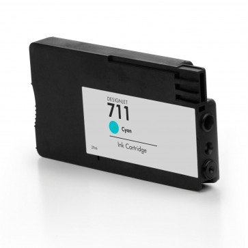 Tusze Zamiennik HP Designjet T120 T520 - GP-H711C Cyan