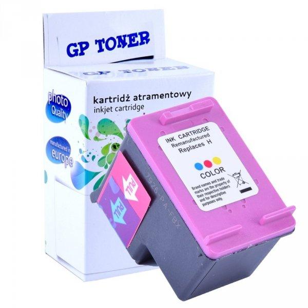 Tusz Zamiennik do HP 703 DeskJet K109a K209a K510 D730 F735 - GP-H703CMY Kolor