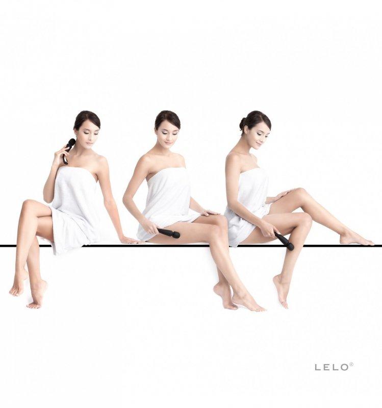 LELO - Smart Wand masażer do ciała średni czarny