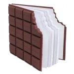 Ugryziony baton czekoladowy - notatnik