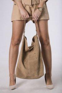 duża skorzana torba