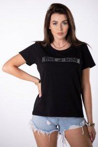 t-shirt ze ściągaczem