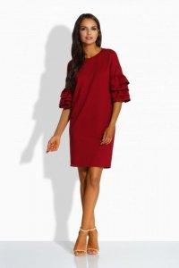 Luźna sukienka w stylu hiszpańskim L229