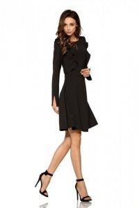 Klasyczna sukienka z długim rękawem L271