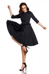 Kobieca sukienka z falbankami L291