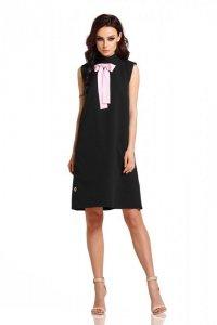 Sukienka z kokardą przy szyi L296
