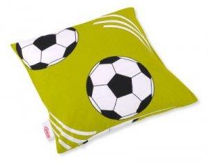 Poszewka na poduszkę - piłka nożna zielona