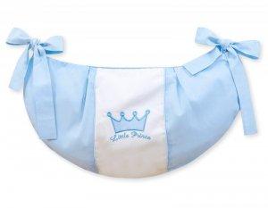 Przybornik- Torba na zabawki- Little Prince/Princess niebieskie