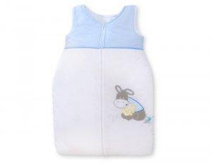 Śpiworek niemowlęcy- Osiołek Lucek niebieski