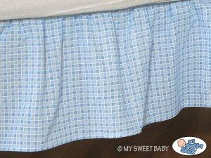 Falbanka maskująca 140x70cm- Dobranoc niebieskie
