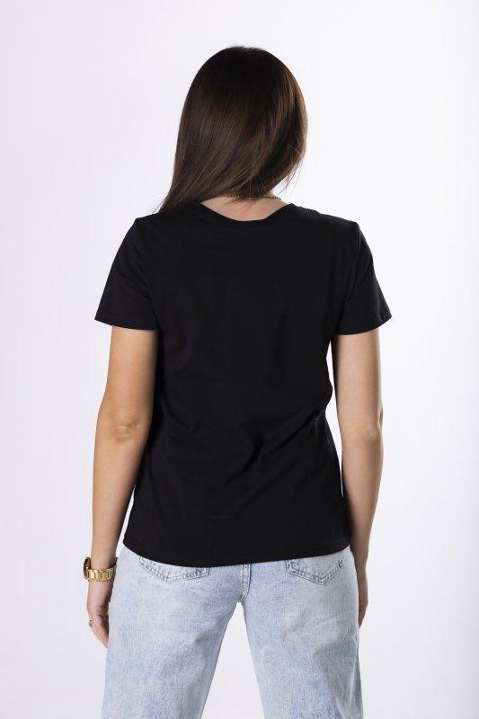 t-shirt z printem