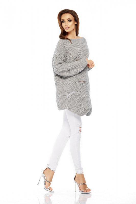 Luźny sweter oversize LS209