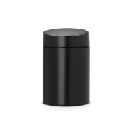 Kosz SLIDE BIN 5L Black / Black Plastic