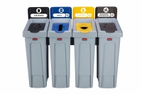 Stacja do Recyklingu Slim Jim® 4 stumienie