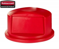 Pokrywa BRUTE® Dome Top Red okrągła do kontenera 2632-00