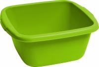 Miska 14L kwadratowa zielona
