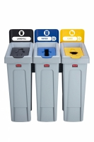 Stacja do Recyklingu Slim Jim® 3 stumienie