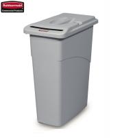 Pojemnik Slim Jim® Waste Confidential Combo grey