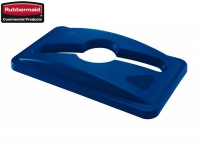 Pokrywa do koszy Slim Jim® Commingle lid Blue