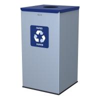 Kosz do segregacji odpadów EKO SQUARE 90L papier