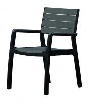 Krzesło ogrodowe HARMONY z podłokietnikiem