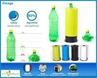 Zgniatarka OMEGA do puszek i butelek PET 4 kolory