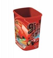 Kosz na śmieci 10L Flip Bin bez pokrywy CARS NEON