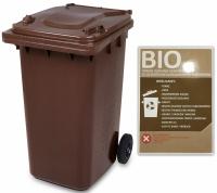 Pojemnik na odpady 240L BI0