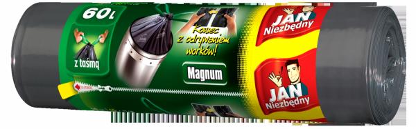 Worki na śmieci Jan Niezbędny Magnum 60 litrów