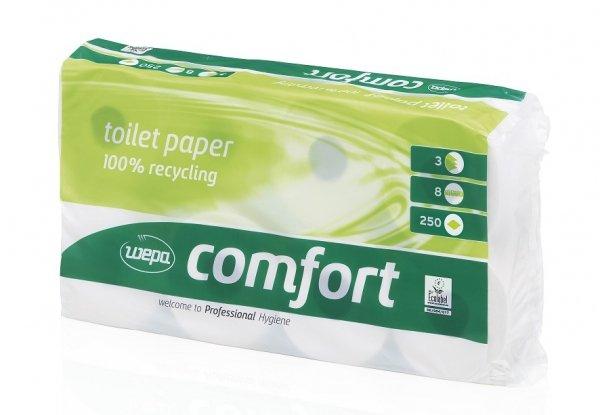Papier toaletowy CLOU comfort 3-w.(8 rolek)