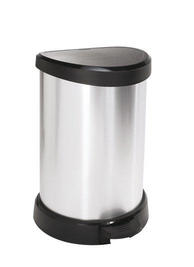 Kosz na śmieci Deco Bin 20L srebrny